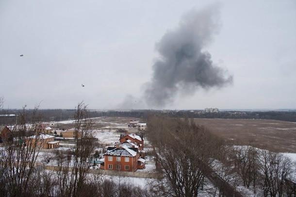 Взрыв в Донецке 14 февраля 2017