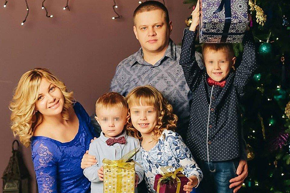 Семья Востриковых